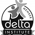 Proud Members Of Delta Institute - From A Dog's View
