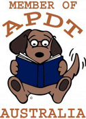 Proud Members Of APDT Australia - From A Dog's View